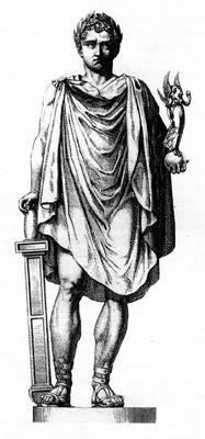 Statue de Napoléon au sommet de la colonne Vendôme