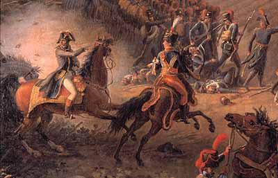 La Bataille de Marengo (détail): Bonaparte