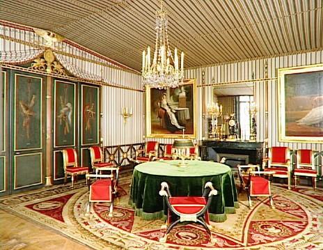 Salle du Conseil © RMN-Grand Palais (musée des châteaux de Malmaison et de Bois-Préau)