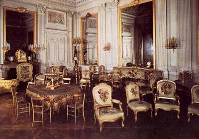Château de Compiègne. Salon de Réception or Salon de Famille ...