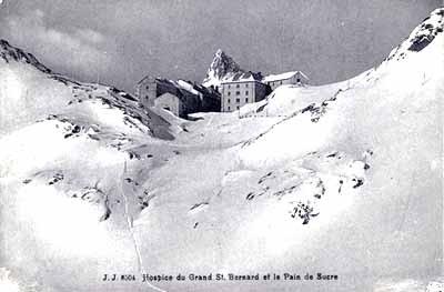 The Hospice du Grand-Saint-Bernard and the Pain de sucre