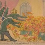 The Corsican Crocodile dissolving the council of frogs!!!