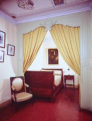 Maison Bonaparte : la chambre de l'Alcôve