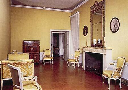 Maison Bonaparte : chambre natale de Napoléon