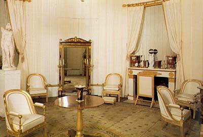ch teau de compi gne boudoir de l 39 imp ratrice. Black Bedroom Furniture Sets. Home Design Ideas