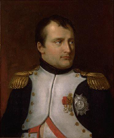 portrait de l 39 empereur napol on ier portant plaque et toile de la l gion d 39 honneur et croix de. Black Bedroom Furniture Sets. Home Design Ideas