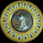 """Guéridon imitant """"La Table des Maréchaux"""""""