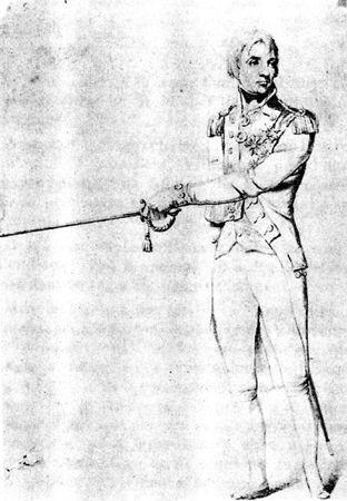 (Archives Musée de la Marine) Nelson; don du Commandant Pichon.