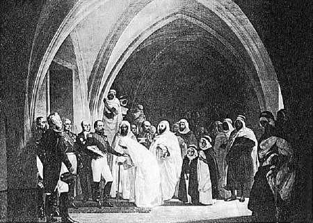Le royaume arabe d' Algérie