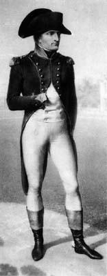 Bonaparte devant Malmaison. Dessin au crayon par Isabey. Malmaison, photo Tallandier.