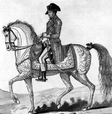 Napoléon Ier, Empereur des Français et Roi d'Italie, 1807.