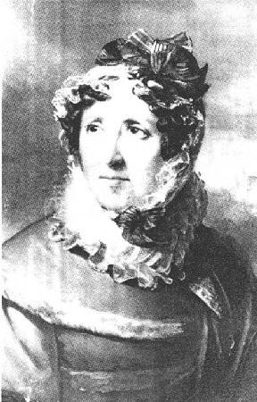 Madame Campan, surintendante de la Maison d'Education de la Légion d'honneur.