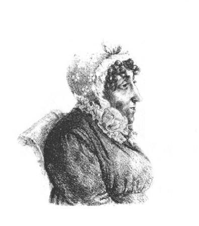 Madame Campan, peu avant sa mort.