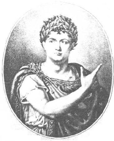 Talma, dans le rôle de Néron.