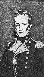 "Le capitaine Maitland, commandant le ""Bellerophon"" (documentation Tallandier)."