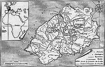 Ile de Sainte-Hélène.