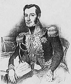 Le général Montholon, compagnon de l'Empereur à Sainte-Hélène (documentation Tallandier).
