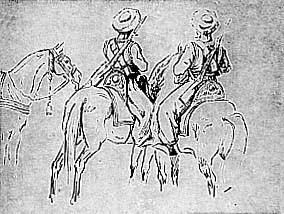 Mameluks à la bataille d'Austerlitz.