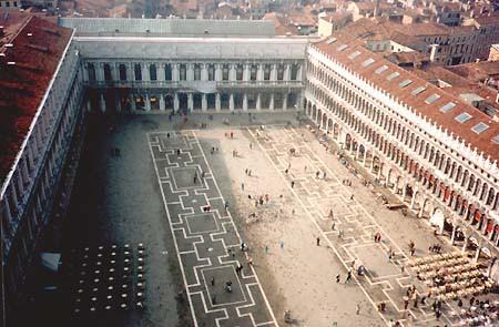 Aile napoléonienne place Saint-Marc – Venise