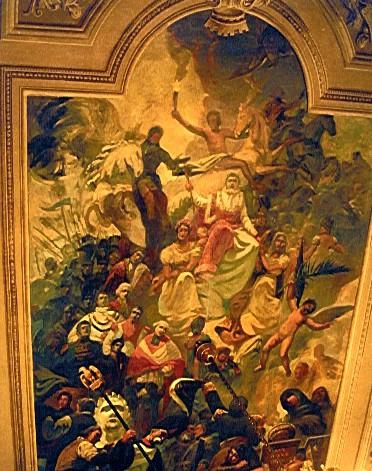 Salon napoléonien, Hôtel de Ville – Ajaccio