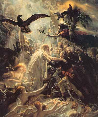 The Apotheosis of the French heroes who died for their country during the war for liberty