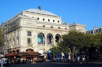 Théâtre du Châtelet (construction 1860-1862)