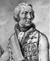 WURMSER Dagobert Sigismond, comte de, (1724-1797), maréchal allemand