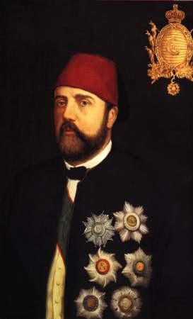 ISMAIL PASHA, (1830-1895), vice-roi d'Egypte