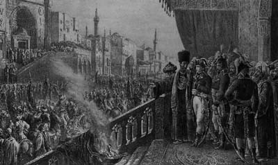 Napoleon at the festival of Mohammed