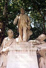Monument honouring Alphand, avenue Foch © Fondation Napoléon