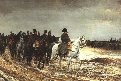 Key paintings 1st empire for Napoleon horse painting