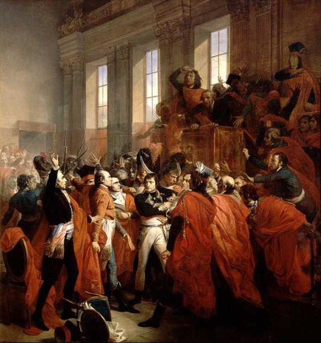 The Brumaire coup d'etat