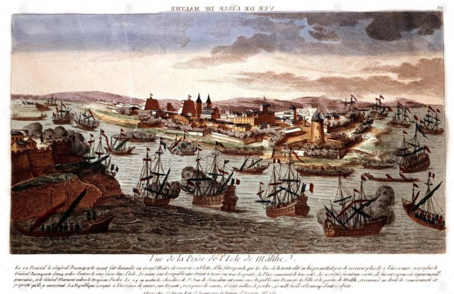 The Siege and the Taking of Malta