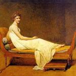 Portrait de Juliette Récamier