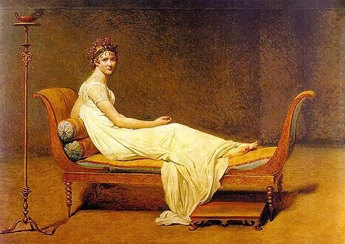 Portrait of Juliette Récamier