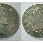 5 Franc piece, Napoleon Emperor, 1806