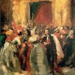Bal costumé au palais des Tuileries