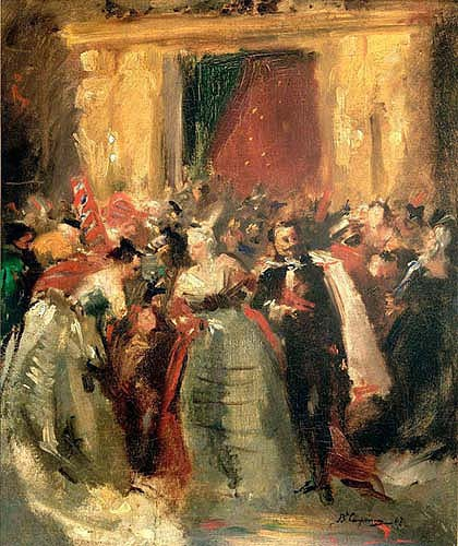 Costume Ball at the Tuileries Palace