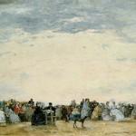 La plage de Trouville