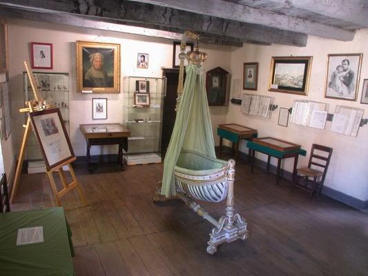 Premier étage de l'auberge familiale des Murat, aujourd'hui Musée Murat © my-travel-pass.com