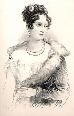 Mademoiselle Mars aged twenty © Fondation Napoléon