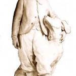 Le Prince impérial et son chien Néro