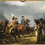 Napoléon Ier passe en revue la garde (bataille d'Iéna, 14 octobre 1806)