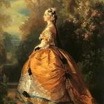 L'Impératrice Eugénie en costume du XVIIIe siècle