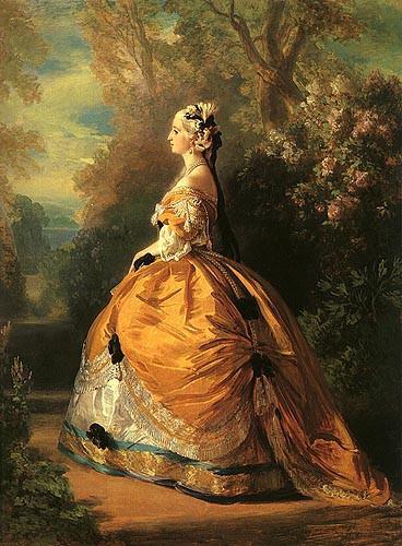 L'Impératrice Eugénie en costume du XVIIIe siècle - napoleon.org
