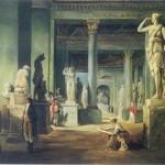 La salle des Saisons au Louvre