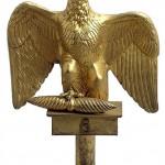 The Cent-Jours standard Eagle of the 6e Régiment des Chasseurs à Cheval