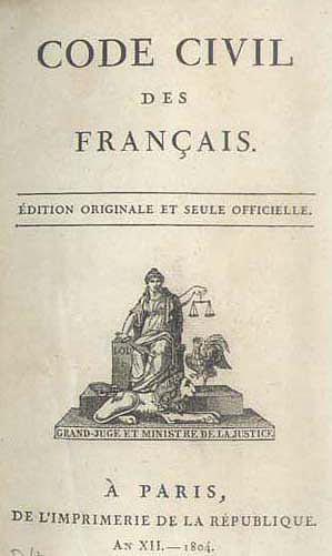 Le Code civil des Français, 21 mars 1804 : quelques points de repère