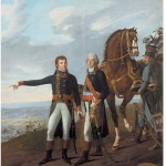 General Bonaparte and his chief of staff, General Berthier, at the Battle of Marengo