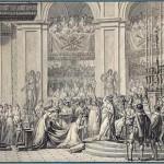 Le Sacre ou le Couronnement (dessin préparatoire)